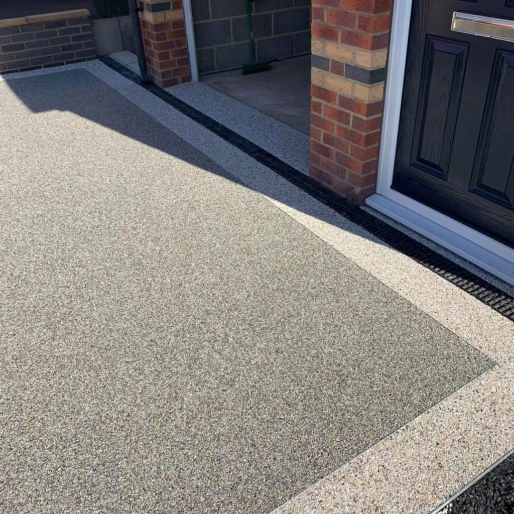 North East Resin Bound driveway edge detail