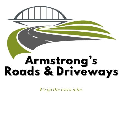 Tarmac & Resin driveways specialist contractor Armstrong's Roads & Driveways logo
